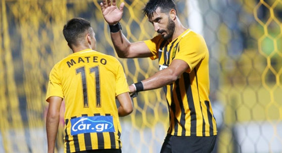 """ΑΡΗΣ - Αστέρας Τρίπολης 2-0   Επιστροφή στις νίκες με """"σούπερ"""" Γκαρσία!"""