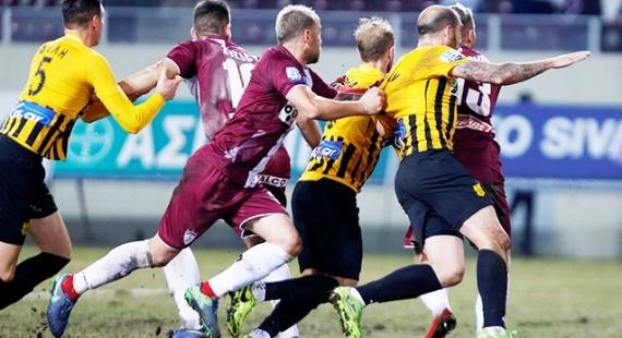 Λάρισα - ΑΡΗΣ 0-0 | Πάλεψε στον βούρκο αλλά έμεινε στο μηδέν